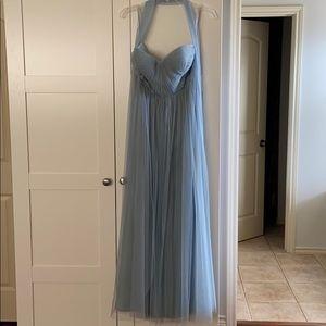 Jenny Yoo Ciel Blue Annabelle Dress Size 6